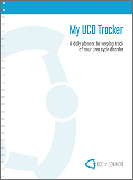 Urea cycle disorder daily tracker notebook