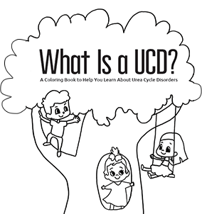 What is a UCD? coloring book cover